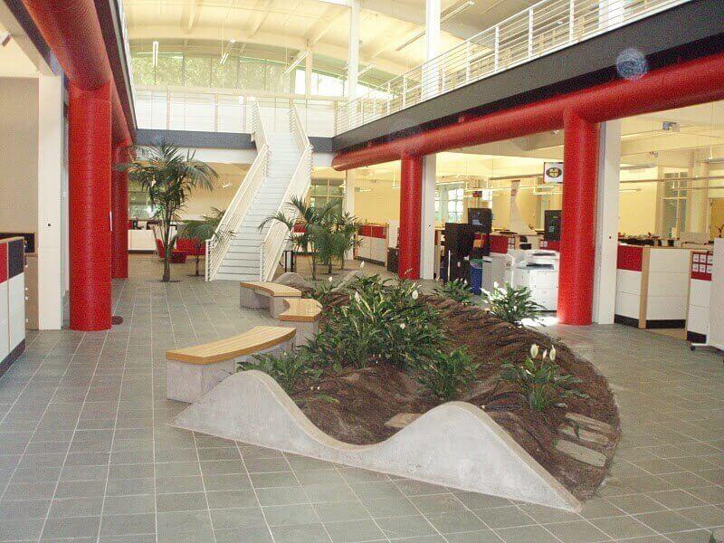 thiết kế thi công nội thất văn phòng mang tính thẩm mỹ cao