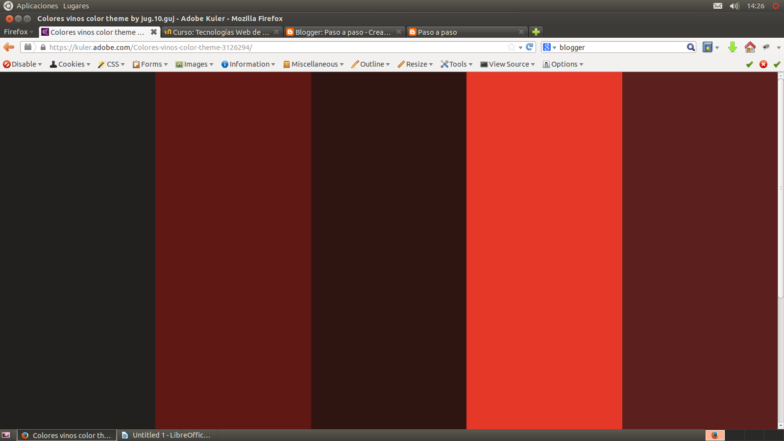 Paso a paso trabajando con paletas de colores for Paleta de colores grises