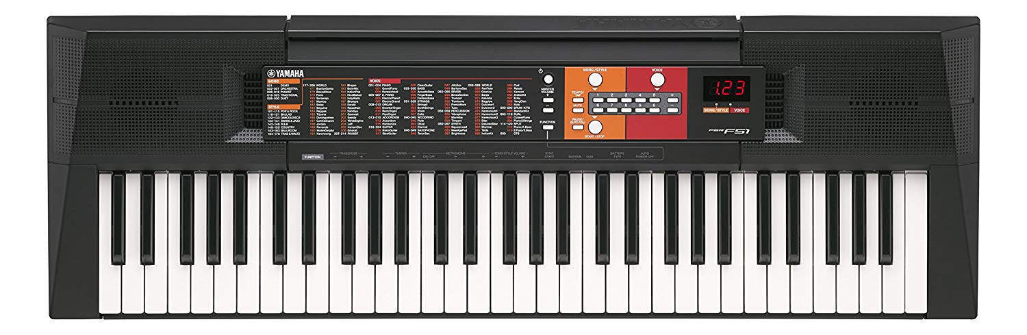 Yamaha PSRF51 Portable 61-Keys Keyboard