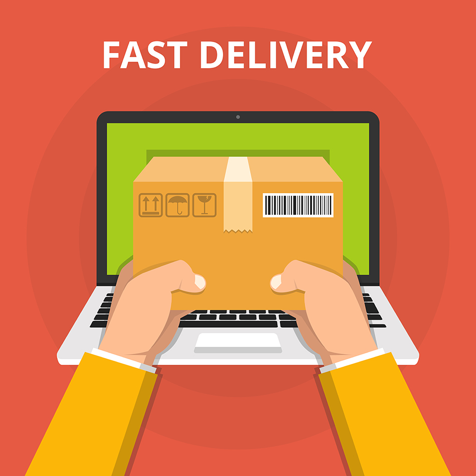 eCommerce website development checklist: different delivery options