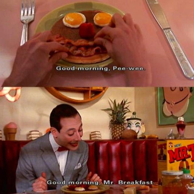 Image result for i love breakfast meme