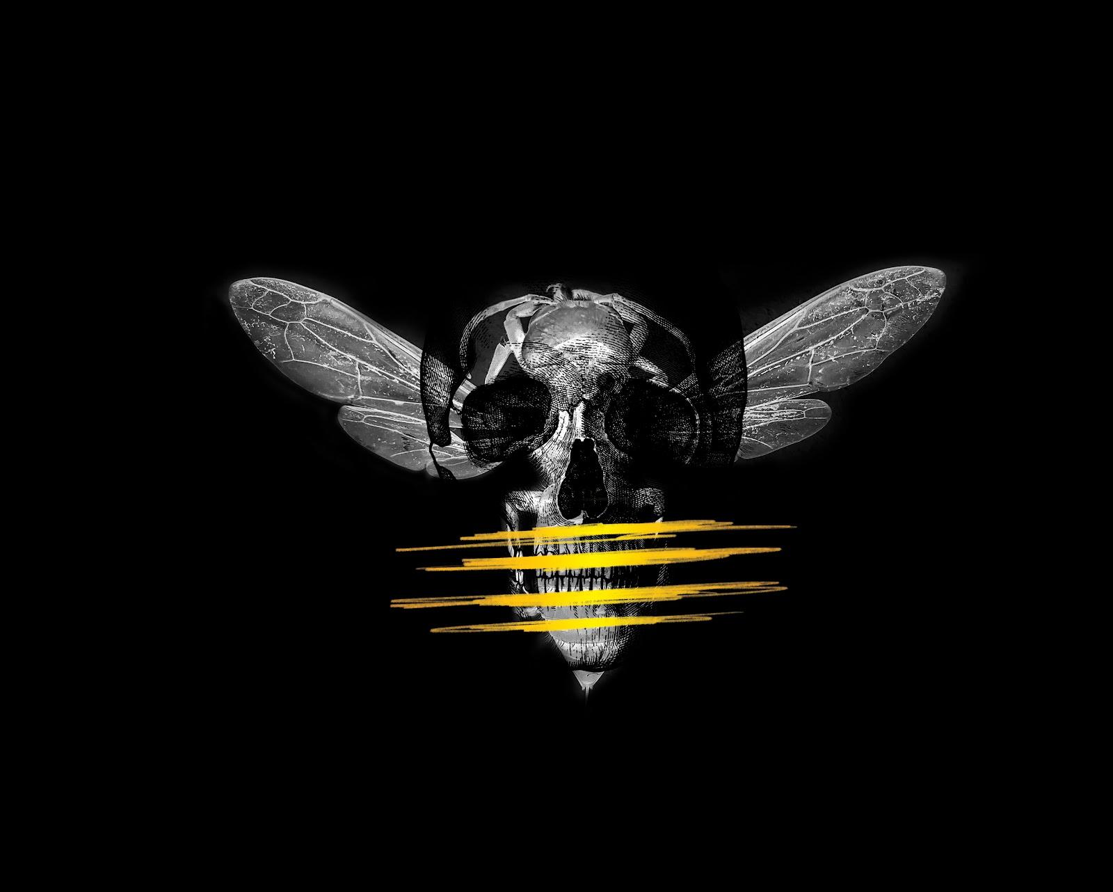 Black Hops Murder Hornet logo