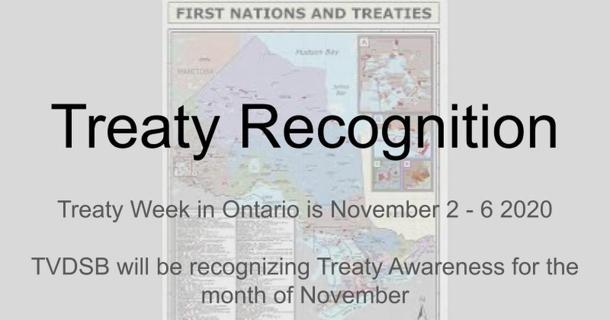 Treaty Week