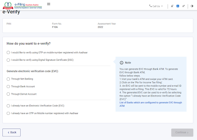 how-to-e-verify-form-10a-with-dsc-on-new-e-filing-portal