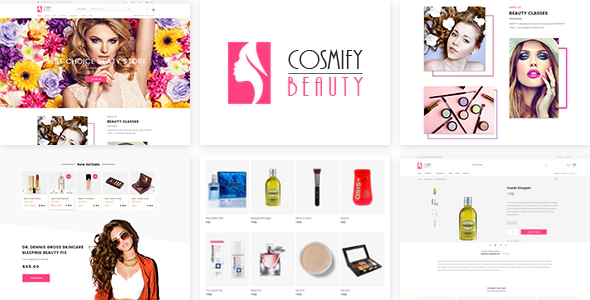 Shopify responsive themes Cosmify