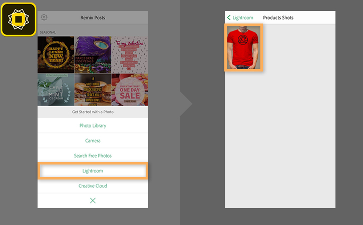 iOS Adobe Spark, www.helpx.adobe.com