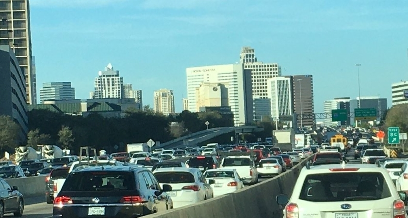 traffic in Houston TX