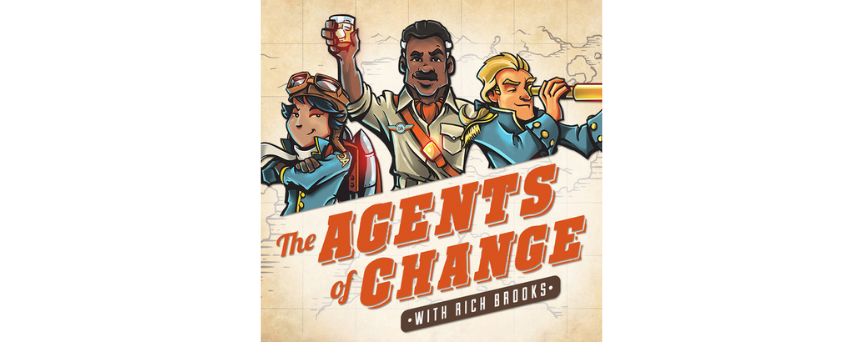 The Agents of Change: SEO, Social Media, and Mobile Marketing for Small Business Podcasts logo
