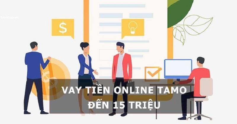 Vay tiền online qua Tamo nhanh chóng uy tín