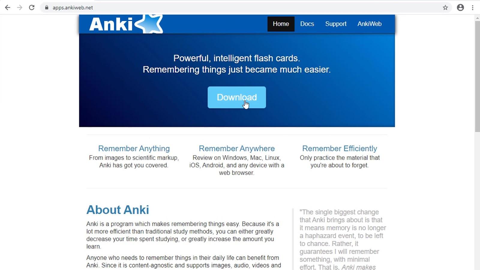 Anki Download