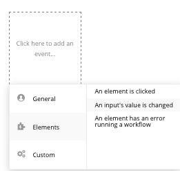 Bubble Workflow event trigger walkthrough tutorial