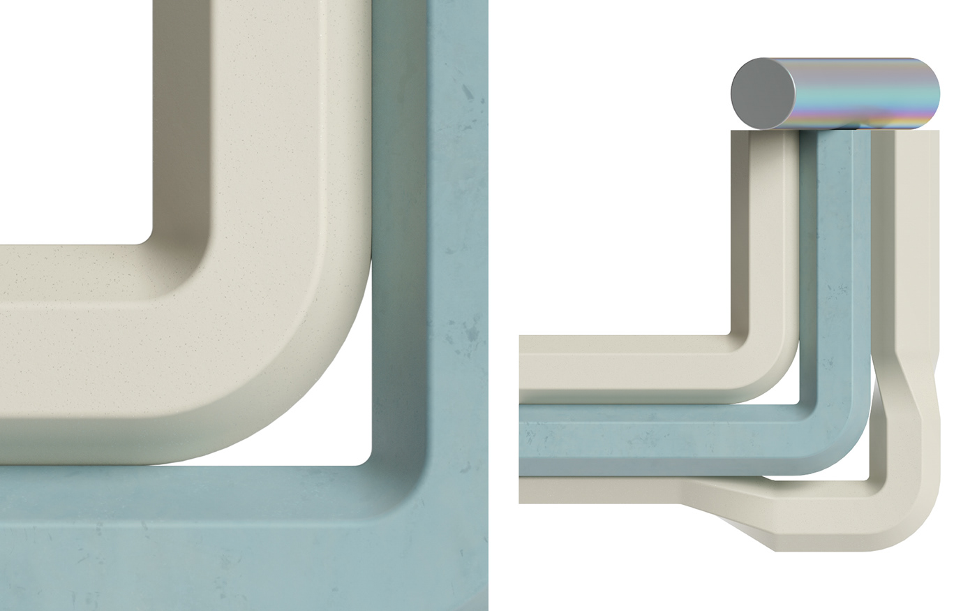 CGI colors design letter type typography