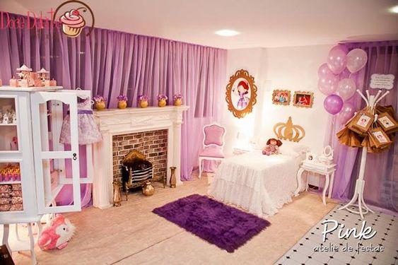 Purple Princess Bedroom Ideas