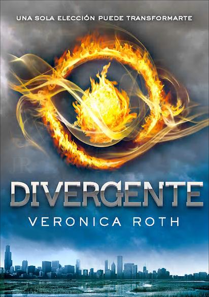 Reseña Divergente portada, Veronica Roth