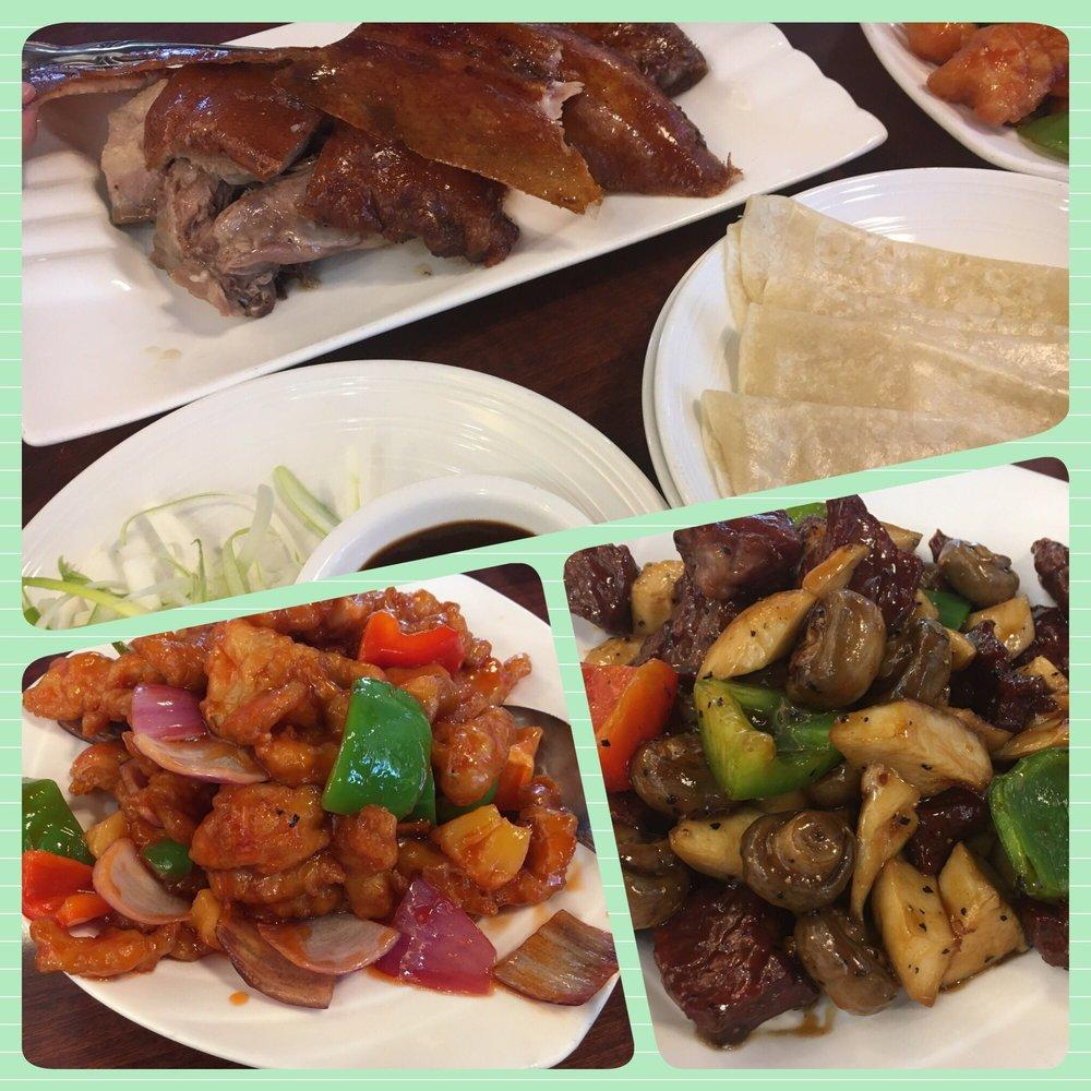 Photo of Hong Kong Chef - Fremont, CA, United States. Peking Duck, Sweet & Sour Pork, Beef Cubes with Sweet Pepper Sauce