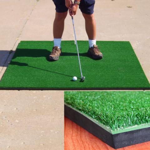 Những lưu ý cần biết khi chọn thảm tập golf Swing
