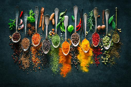 https://media.istockphoto.com/photos/herbs-and-spices-for-cooking-on-dark-background-picture-id941858854?b=1&k=6&m=941858854&s=170667a&w=0&h=DOkFO3pXk0JOtnY1WqtB3vAt8hBXBcGyYmnpMBsW-zY=