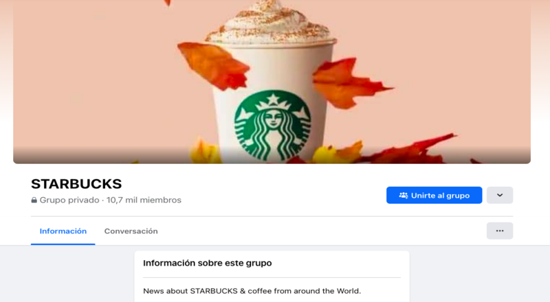 Ejemplo Starbucks