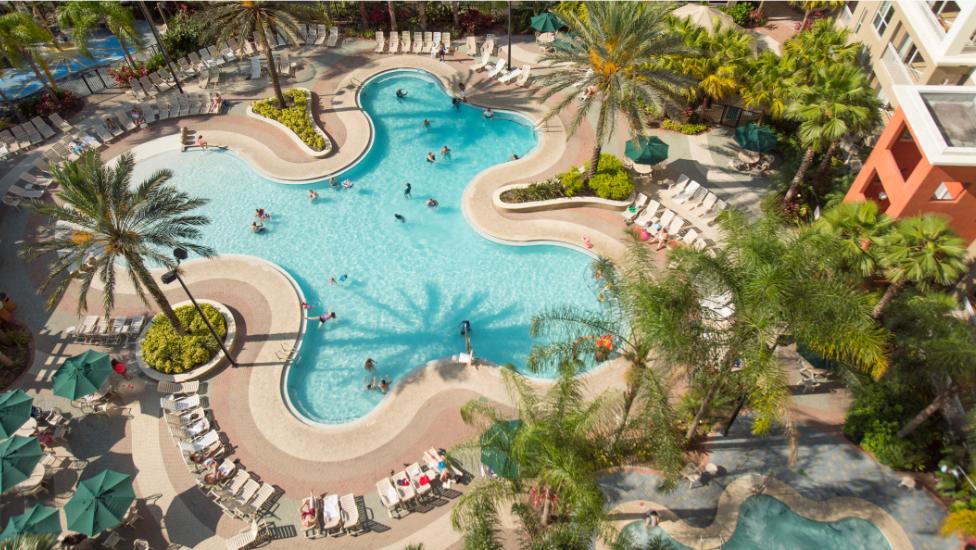 Hotel Room pool