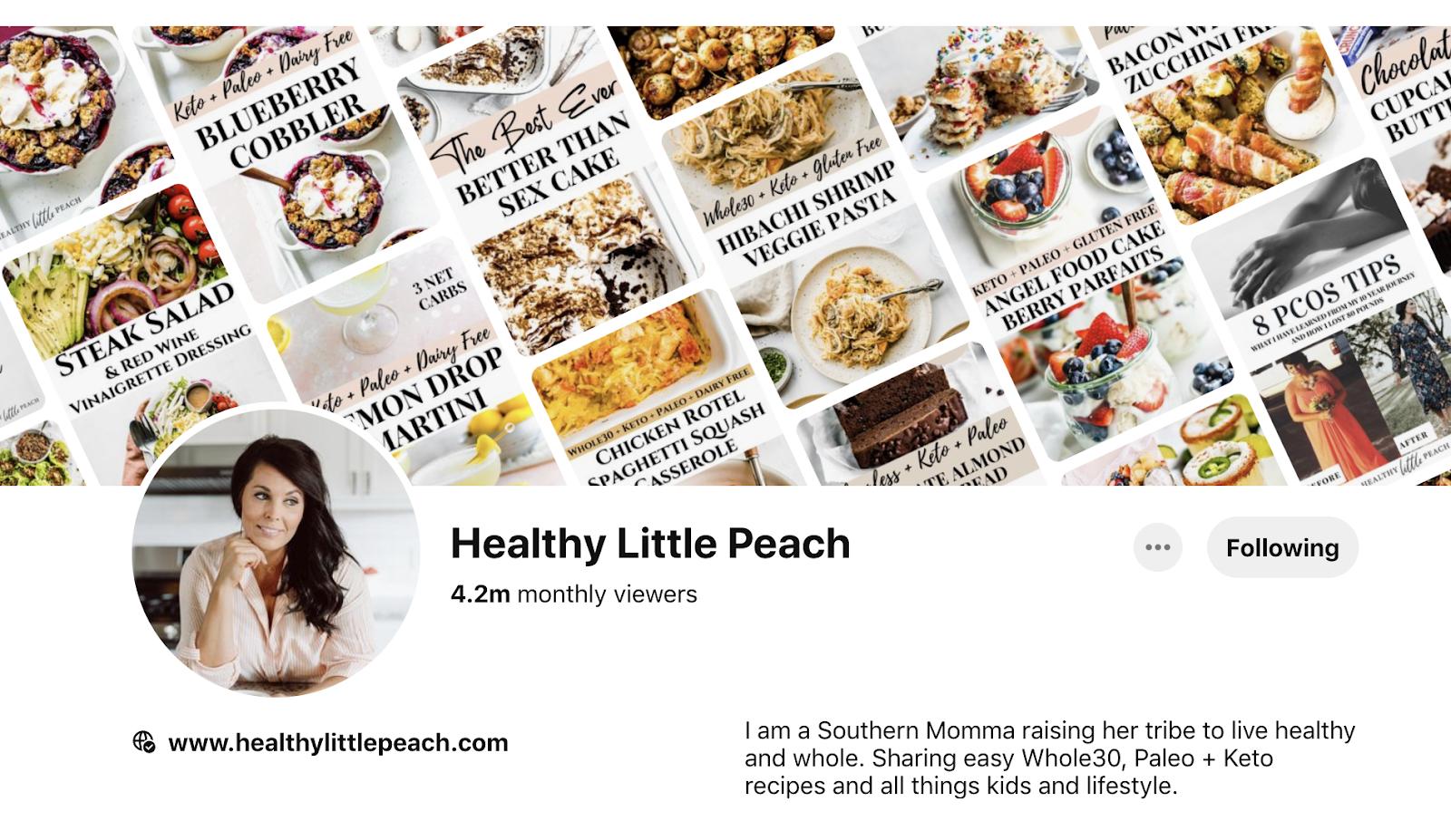 Healthy little peach