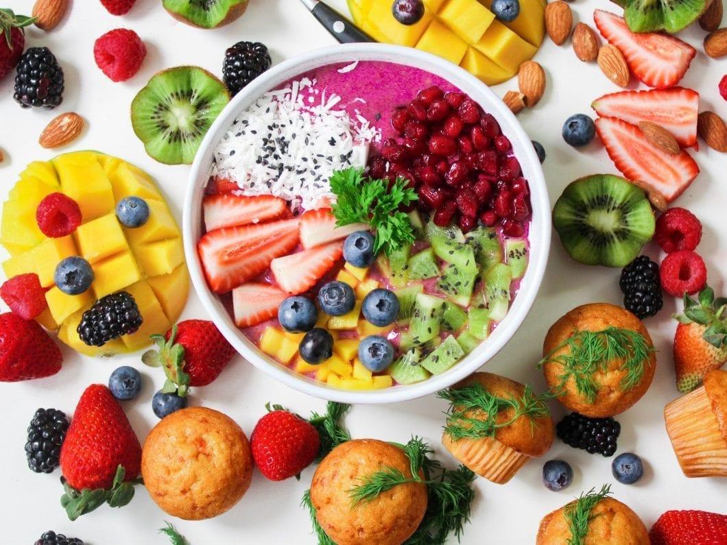 Tasty fruit snack.