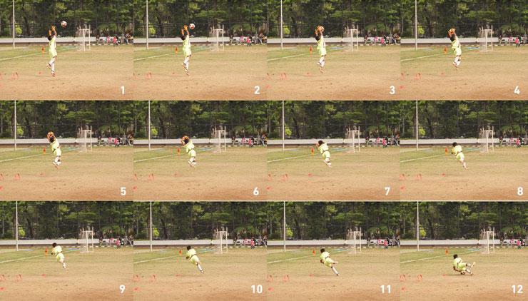 Hasil foto menggunakan mode continuous shutter kecepatan tinggi. Foto: Dicky