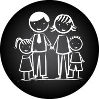 Generic Parent Group Logo (Black)