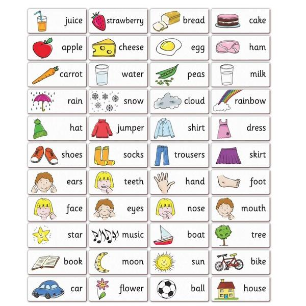 French Words: Magnetic Activities & Games | Language Learning ...
