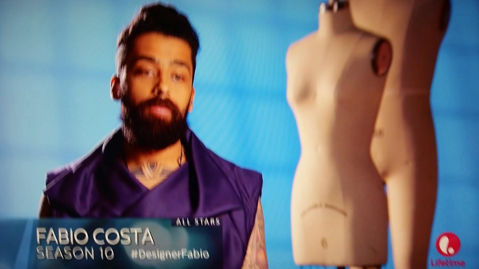 Fabio Costa Project Runway All Stars