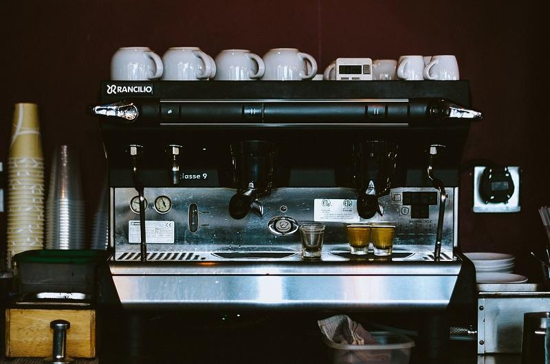 hire coffee machine for business
