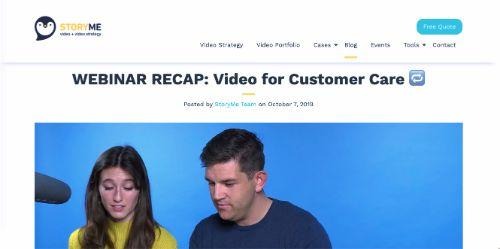 Video for Customer Care