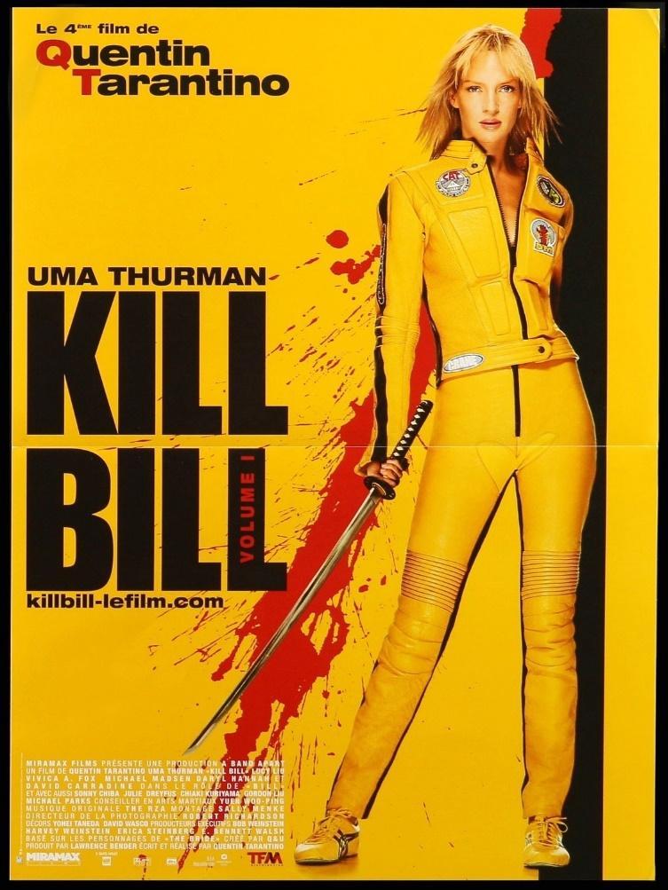 1. KILL BILL