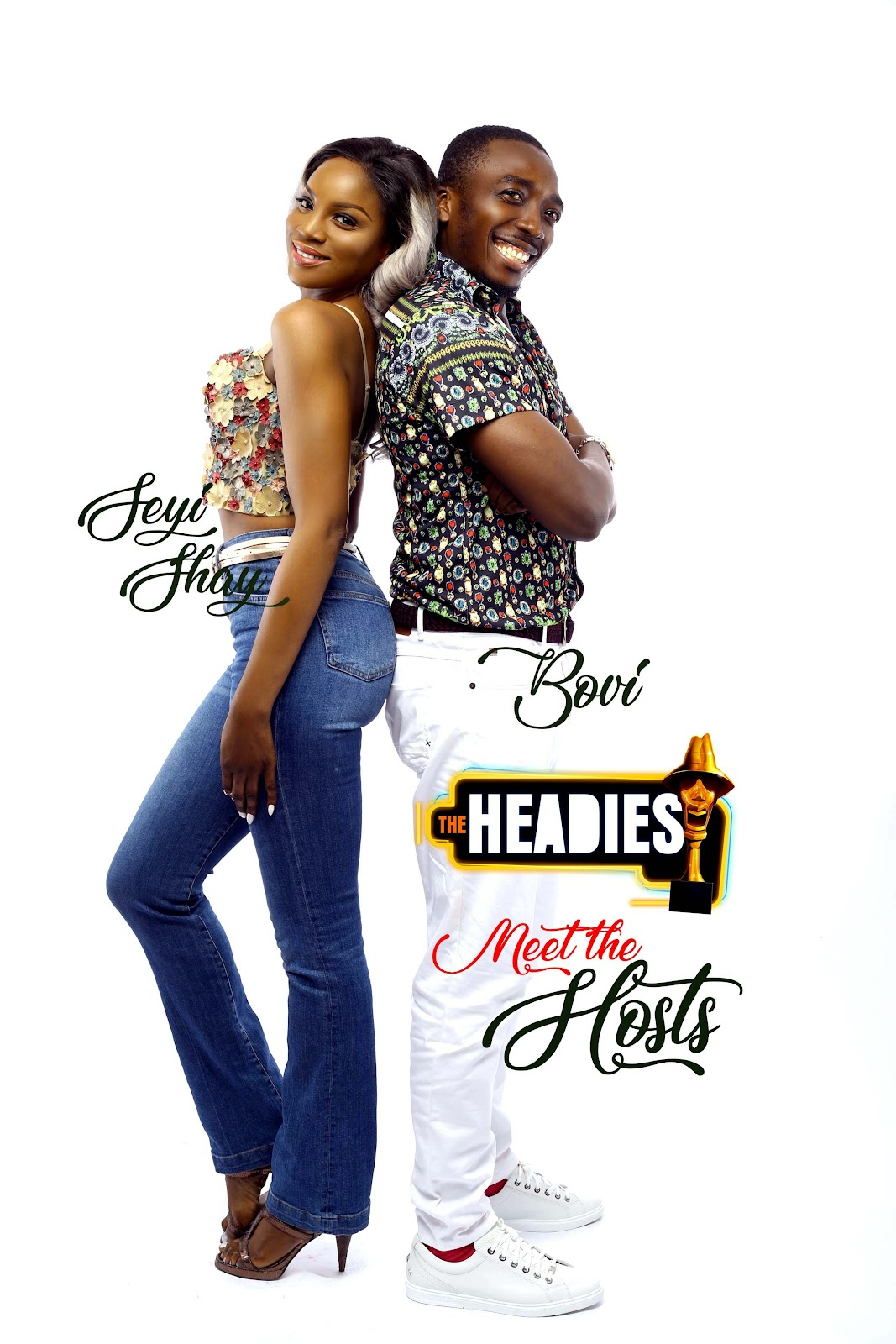 %name BOVI AND SEYI SHAY TO HOST THE 12TH EDITION OF THE HEADIES