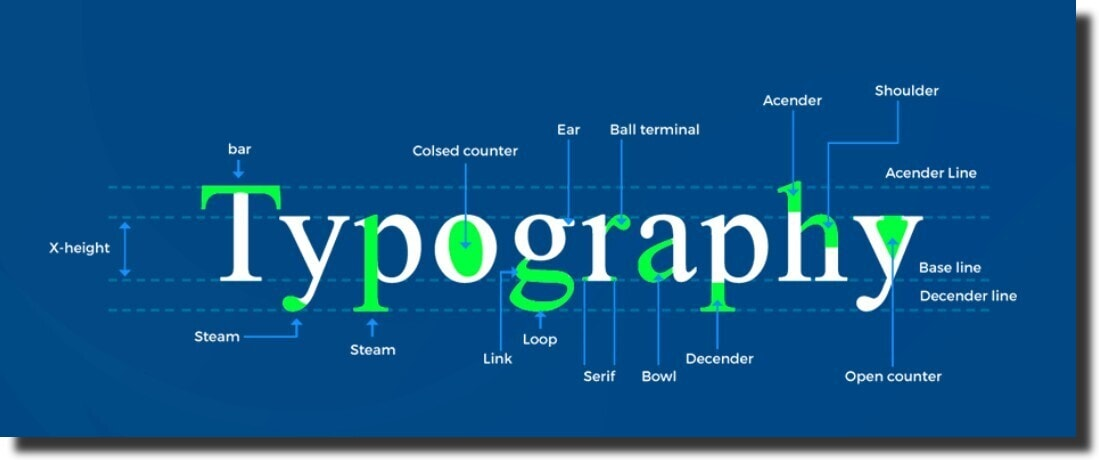 Typography Web Design Principles