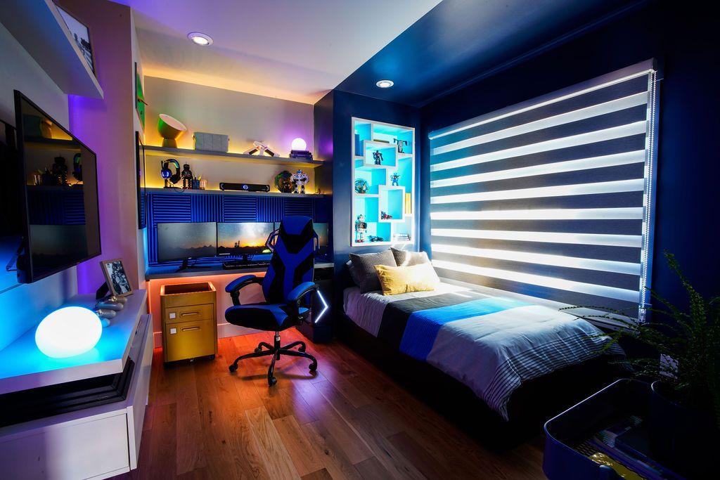 Gaming Boy Bedroom Ideas