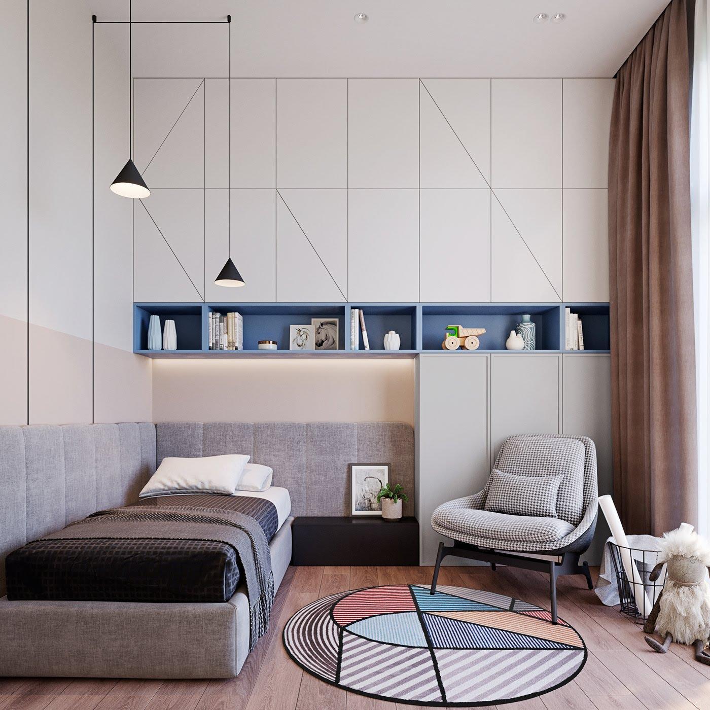 Những đồ nội thất có kích thước nhỏ giúp tiết kiệm diện tích