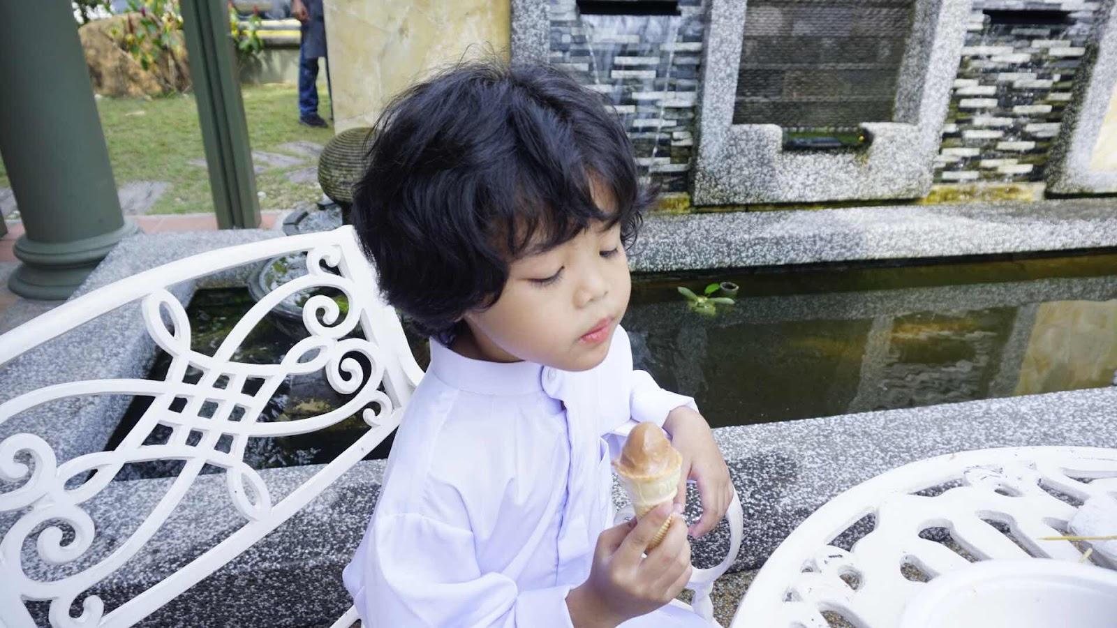 cedok's ice cream tempahan untuk kenduri