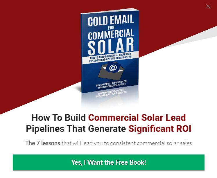 commercial solar lead generation