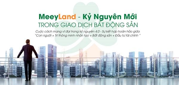 Meeyland sử dụng công nghệ 4.0 trong lĩnh vực bất động sản