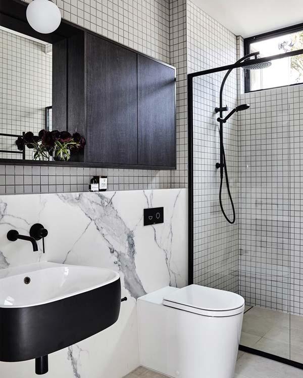 Tiết kiệm diện tích với các thiết kế vòi sen gắn tường