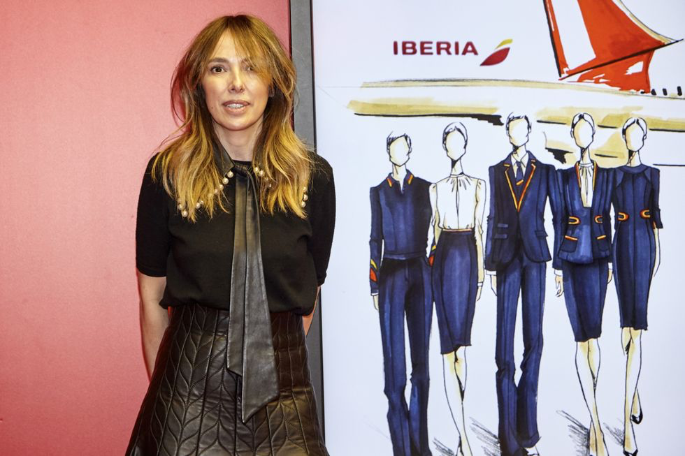 Teresa Helbig, and her Iberia Airlines collection