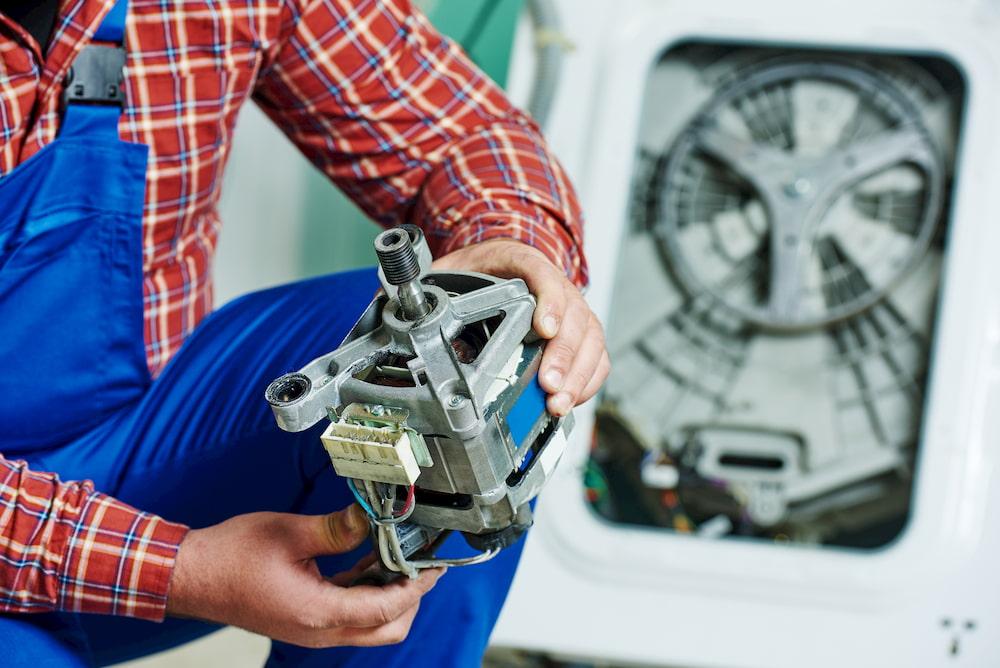 мотор стиральной машины неисправен