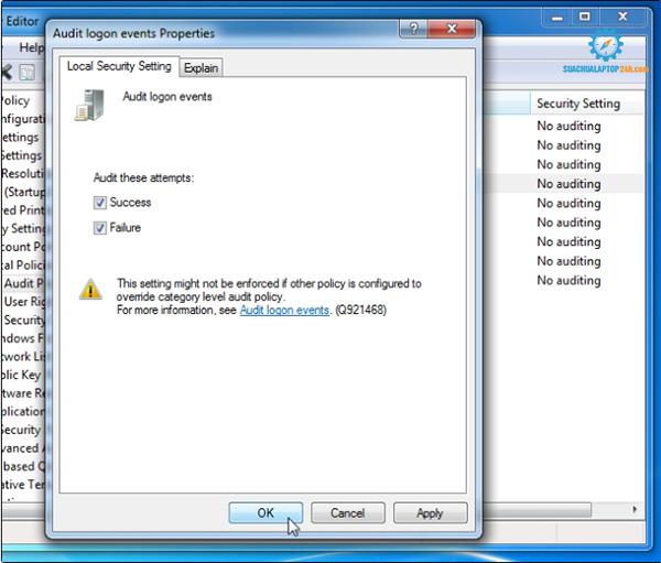 cách kiểm tra laptop bị người khác sử dụng