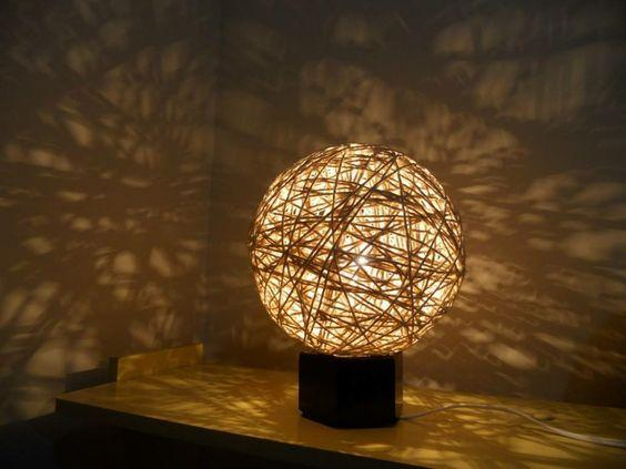 luminária reciclada