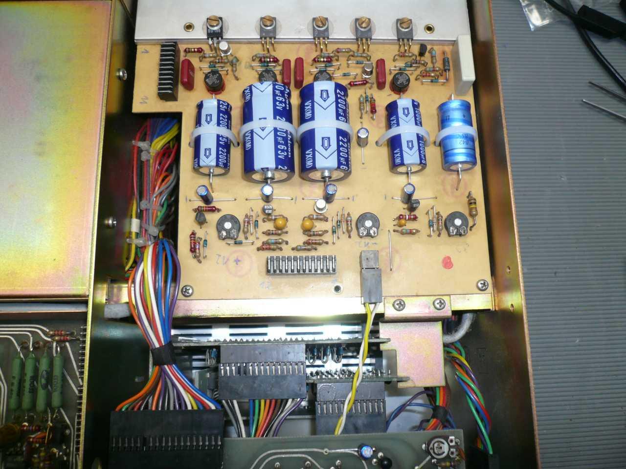 数字音频前置放大器电路板