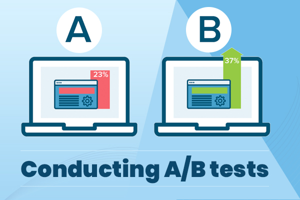 Conducting A/B tests