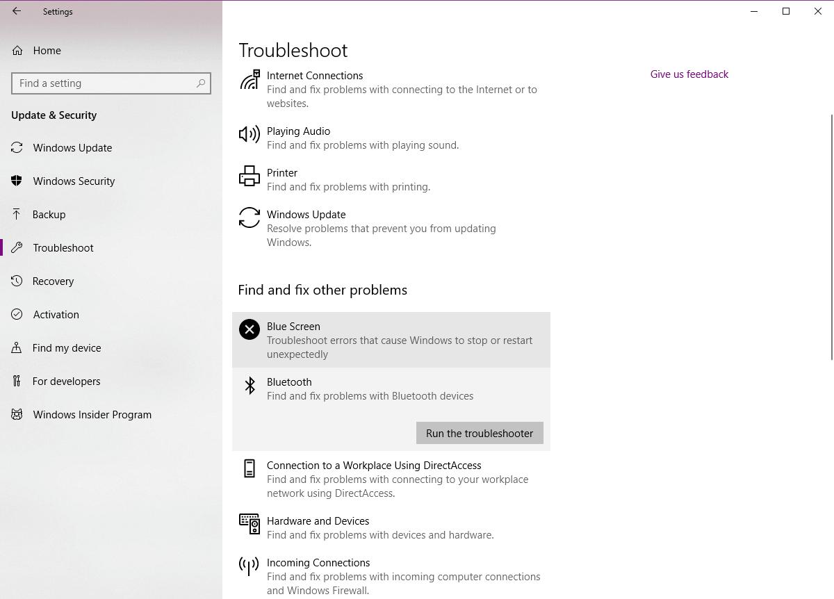 Fix Windows 10