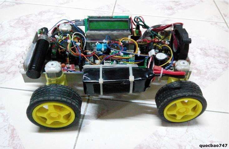 Xe sử dụng ngôn ngữ lập trình Arduino