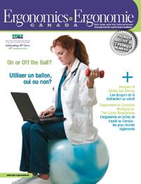 Ergonomics-ergonomie Canada 2008 issue pic