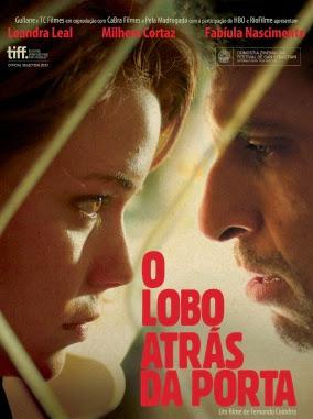 Filme Poster O Lobo atrás da Porta DVDRip XviD & RMVB Nacional